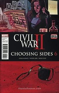 Civil War II: Choosing Sides #6 VF/NM ; Marvel comic book