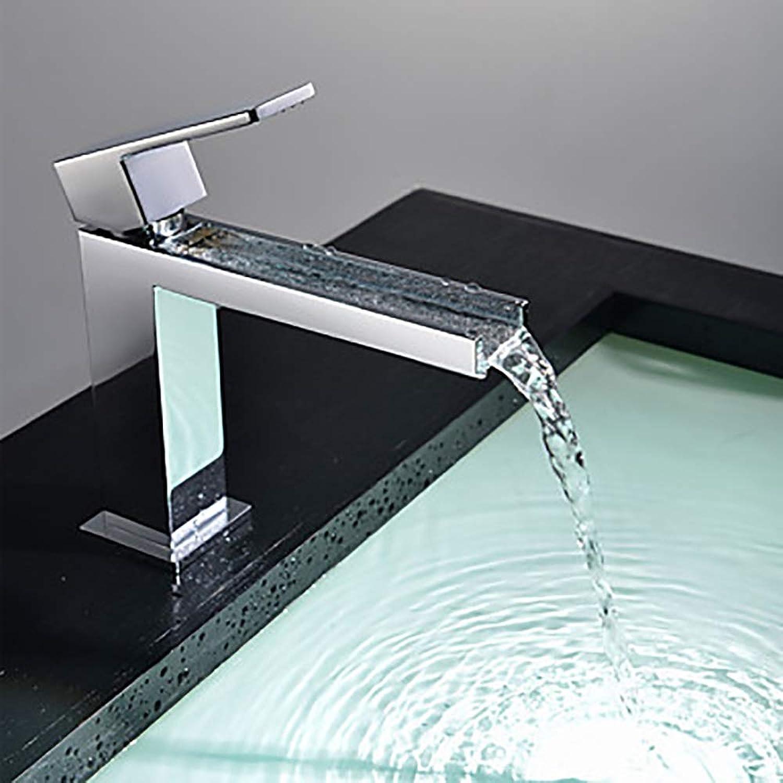 ETH Moderne Silber Kreative Hotel Badezimmer Waschbecken Wasserhahn - Wasserfall One Handle One Tap