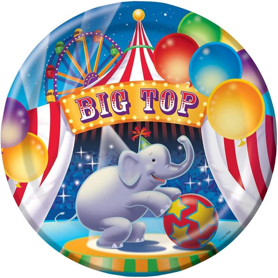 Big Top Birthday Party by Creative Converting
