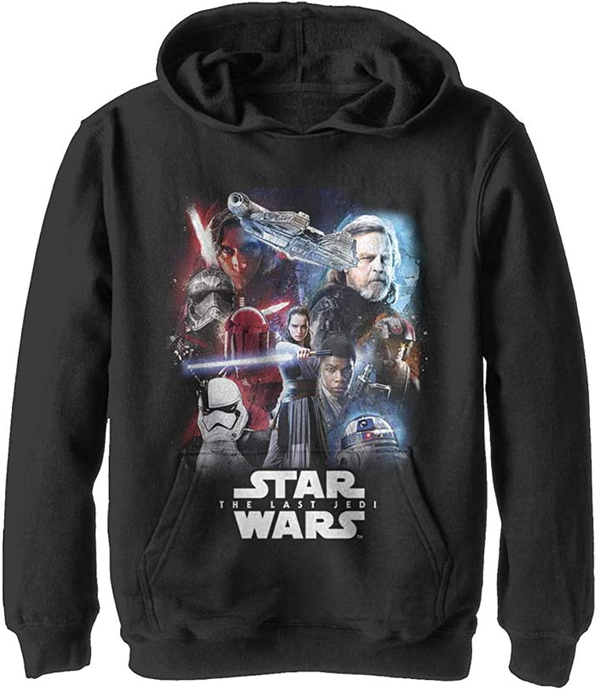 Boy's Star Wars The Last Jedi Force Pull Over Hoodie