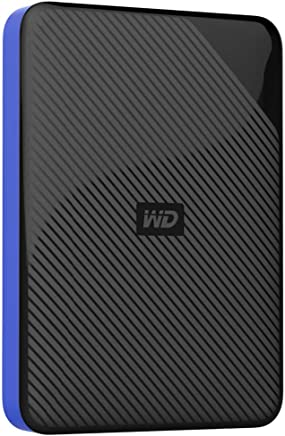WD 4TB Gaming Drive Works with Playstation 4 Portable...