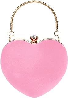 Best pink heart shaped purse Reviews