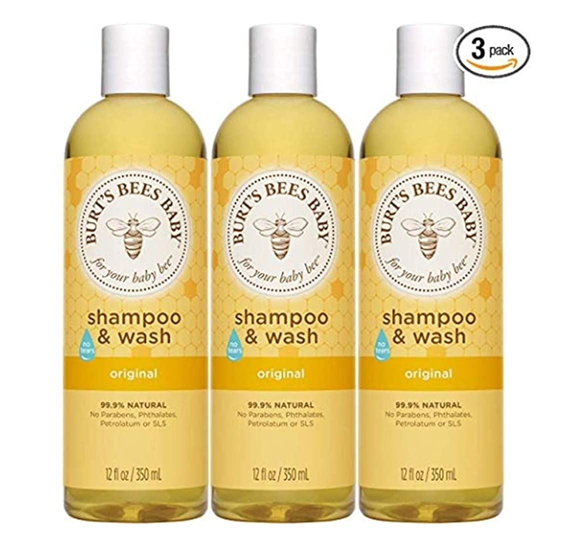 傀儡船形まだ[Burt's Bees Baby Shampoo & Wash, Original Tear Free Baby Soap - 12 Ounce Bottle (Pack of 3)][parallel imports]
