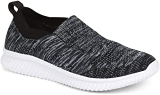 Pavers Womens Lightweight Trainers Plush Memory Foam Stretch Fit Shoes Pumps