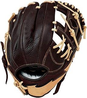 Keliour Basebollhandske hållbara basebollhandskar mjuka tjocka softbollhandskar slitstarka basebollhandskar höger hand kas...