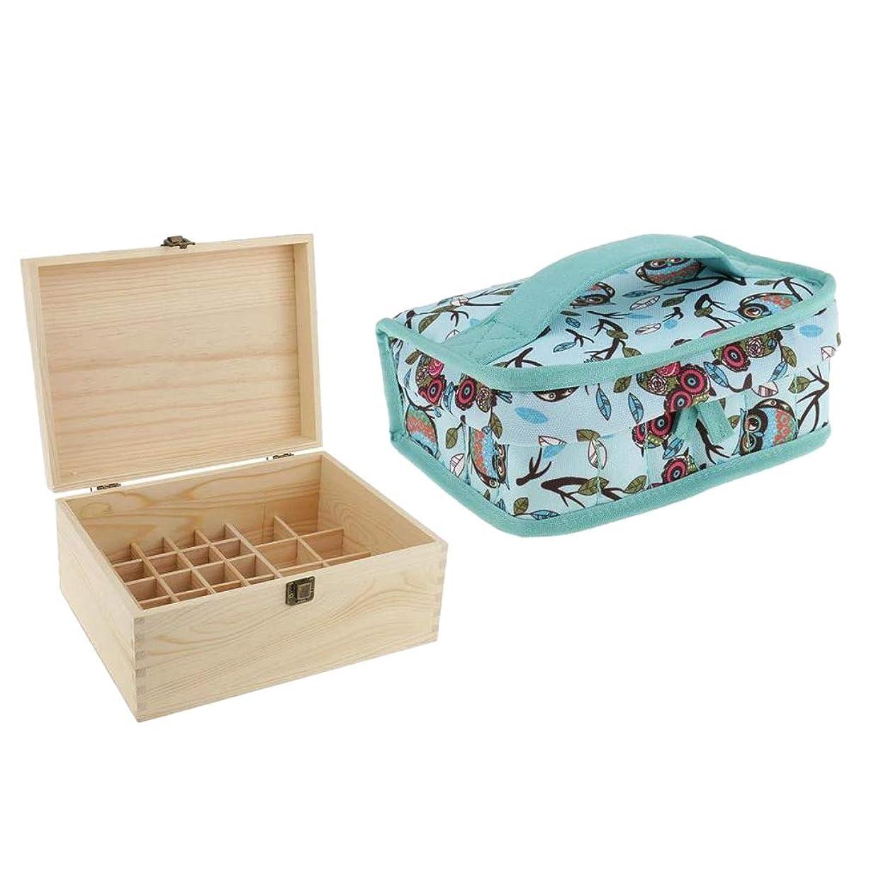 乞食製油所花輪sharprepublic エッセンシャルオイル ボックス 木製 ビューティー メイク道具