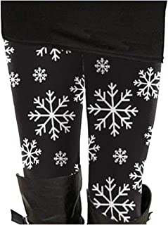 Alaroo Womens Printed Leggings Unique Patterned Brushed Stretchy Pants Workout Yoga Fitness