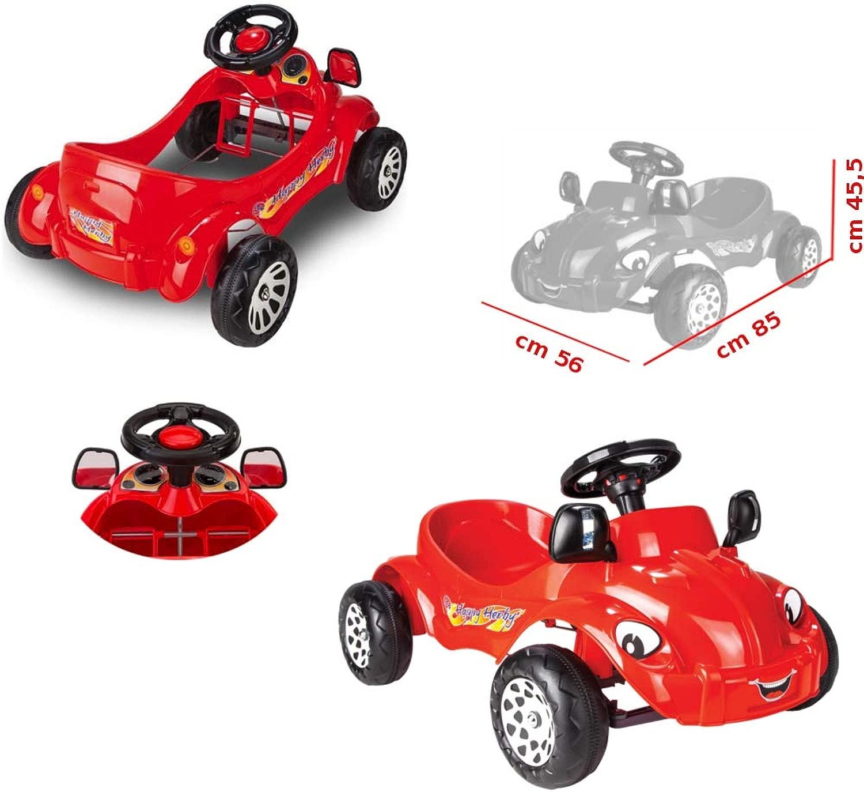 ODG Auto a Pedali per Bambini Mac na Cavalcabile con Pedali Giocattolo