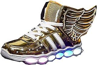 Christmas Kids Boys Girls Breathable LED Light up Shoes Flashing Sneakers for Women Men