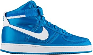 Nike Kids Vandal High Supreme QS Sneaker (GS) (5 Big Kid, Blue Orbit/White-Blue Nebula)