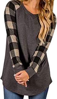TOPUNDER 2018 Women O-Neck Blouse Long Sleeve Shirt Sweatshirt Pullover Tops