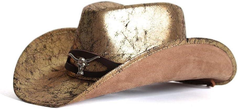 LHZUS Hats Men Japan's In stock largest assortment Women Leather Western Cowboy Outdoor Golden Hat R