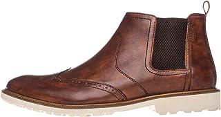 Manz Donna Firenze Ago Bottines Grandes Tailles Marron 146057-03-177 Grand Chaussures Homme