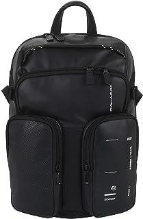 Mochila porta PC con bolsillos exteriores color negro CA4922S106/N