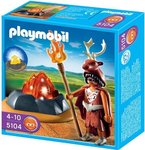 Playmobil 5104 - Feuerhüter mit LED-Feuerfels