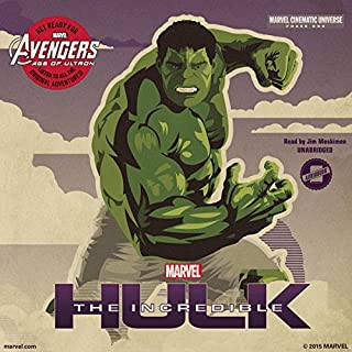 Marvel's Avengers Phase One: The Incredible Hulk cover art