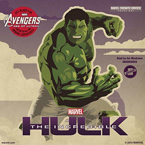 Marvel's Avengers Phase One: The Incredible Hulk audiobook cover art