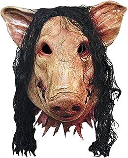 comprar comparacion BEETEST Fiesta de Halloween Máscara de látex miedo espeluznante del cerdo Cosplay traje de mascarada del carnaval