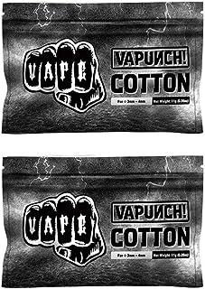 正規品 Original VAPUNCH COTTON for RDA RBA RTA Tank Atomizer Heating Coil Wire Vape Accessories DIY Organic Vape Cotton 電子タバコ用