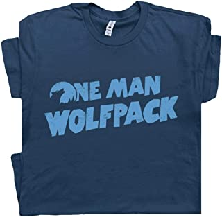 One Man Wolfpack T Shirt The Funny Hangover Cult Movie Film Wolfman Novelty Humor Tee