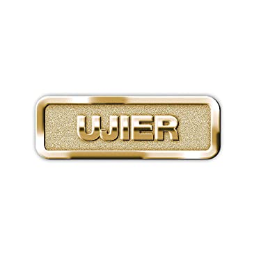 B & H Publishing Group 466116 Span Badge Usher Magnetic Brass
