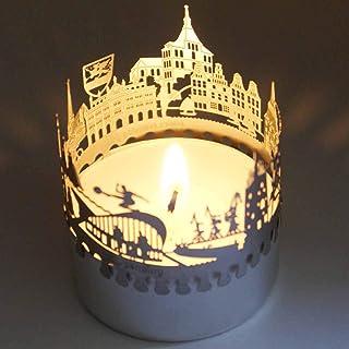 13gramm Rostock-Skyline Windlicht Schattenspiel Souvenir, 3D