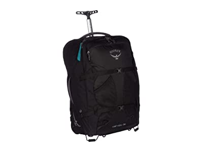 Osprey 36 L Fairview Wheels (Black) Backpack Bags