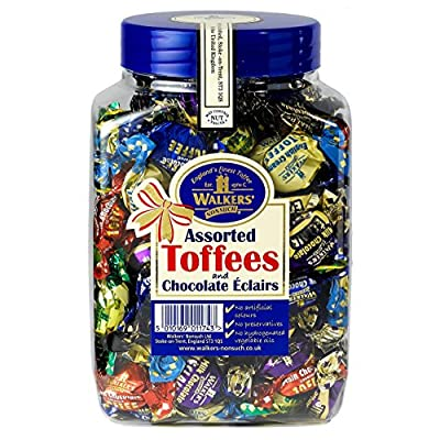 walkers nonsuch assorted toffees and chocolate eclairs jars 1.25 kg WALKERS NONSUCH Assorted Toffees and Chocolate Eclairs Jars 1.25 kg 61mthYBO77L