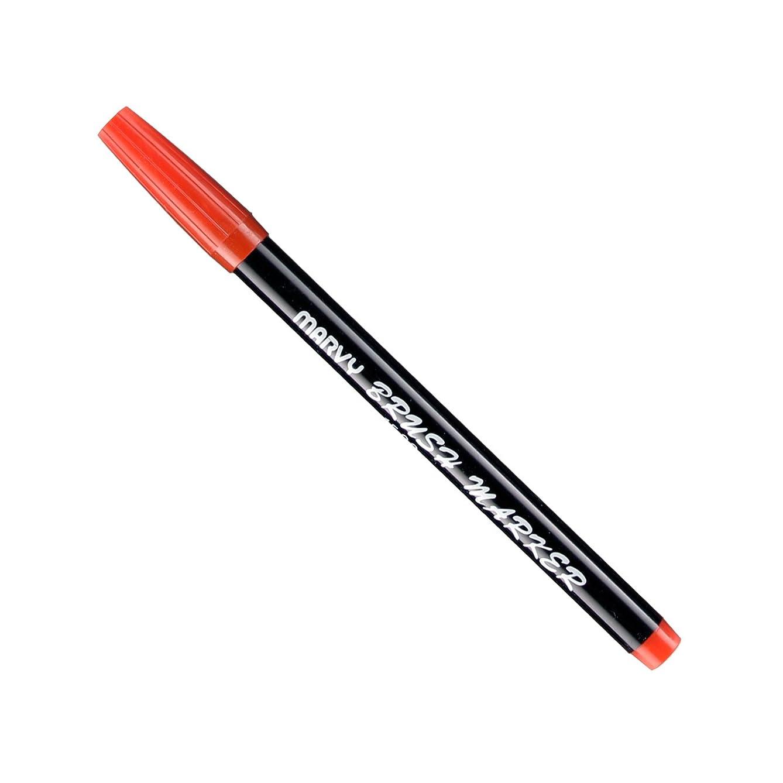 Uchida Of America 1500-C-2 Brush Marker, Red