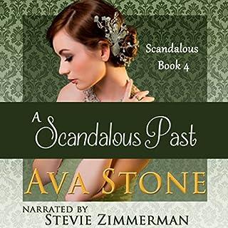 A Scandalous Past audiobook cover art