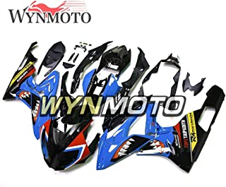 WYNMOTO Shark Blue Black Complete Fairings For BMW S1000RR 2015 2016 S1000 RR 15 16 Bodywork ABS Plastic Injection Body Frames New Hulls
