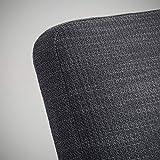 BestOnlineDeals01 EKENÄSET Sillón Hillared antracita, 64x81x75 cm duradero y fácil de cuidar. Sillones de tela. Sillones y chaise longues. Sofás y sillones. Muebles. Respetuoso con el medio ambiente.