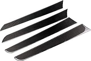 hors Carbon Fiber Armrest Inner Car Door Panel Moulding Frame Decal Cover Trim for Audi A4 A5 B8 Typ 8K 2008–2016 012