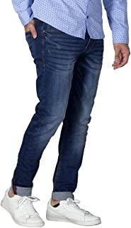 Blend Men's Jeans W. Scratches Jet Slim 20709690 76207 Denim Dark