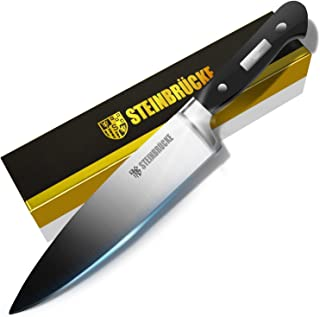 STEINBRÜCKE Chef Knife 8 inch, Kitchen Knife,German 5Cr15Mov Stainless Steel Blade, Length-8