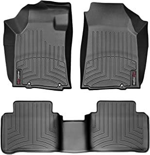 WeatherTech Custom Fit FloorLiner for Nissan Maxima - 1st & 2nd Row (Black)