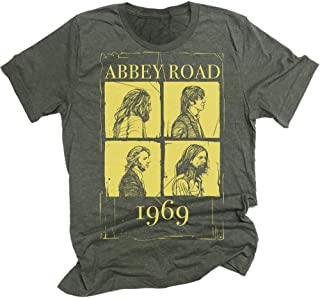 The Beatles Abbey Road Blocks Men's Graphic T-shirt Beatles Tee beatles shirt beatles tshirt UK rock band rock and roll unisex tees