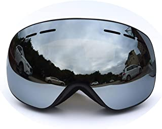 Epinki Unisex TPU+PC Snowboard Glasses Ski Goggles Two-Layer Anti-Fog PC Lens Snowboard Goggles (Coke Myopia Goggles) for Skiing Snowmobile Skating