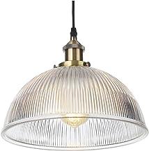 Lampy wiszące, vintage przemysłowe metalowe oświetlenie z regulacją wysokości, szklane klosze wiszące lampy sufitowe do ku...