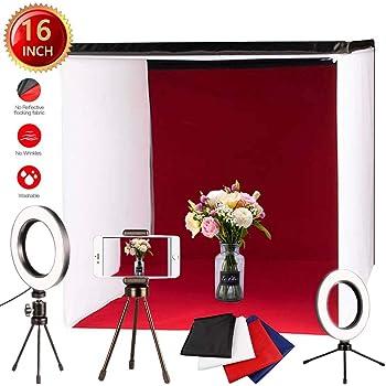 Estudio de fotografía portátil – 40 x 40 cm luz Plegable Foto ...