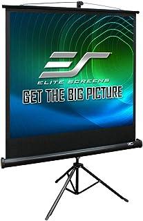 Elite ES-T85UWS1 Tripod 1:1 Portable Projector Screen, 85-Inch