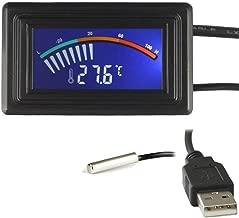 Best panel mount temperature sensor Reviews