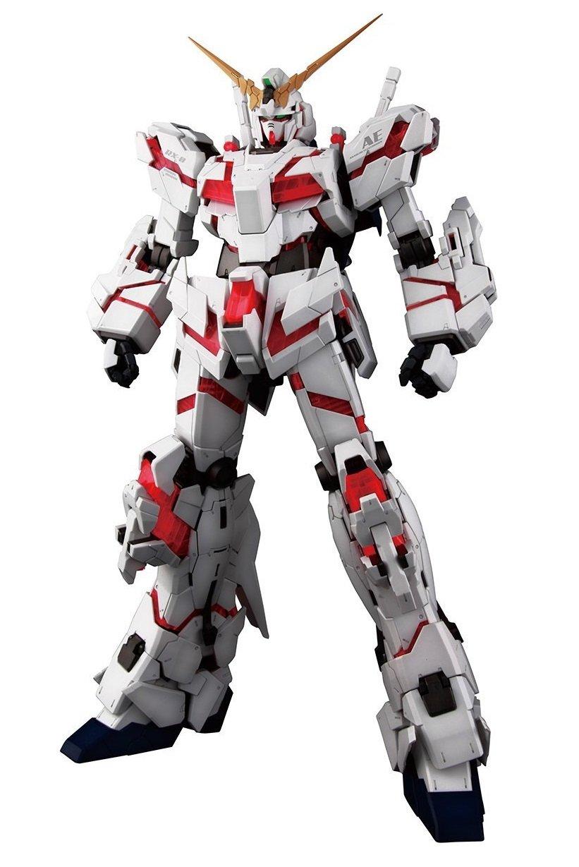 Amazon Com Bandai Hobby Pg Rx 0 Unicorn Gundam Model Kit 1 60 Scale Ban194365 Toys Games