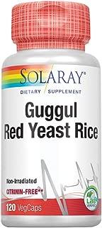 Solaray Guggul Gum Extract & Red Yeast Rice | 120 VegCaps