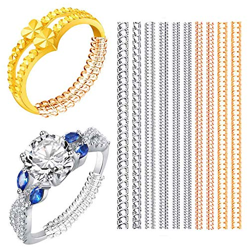 Ring Size Adjuster-Ring Sizers-Ring Guard, fit Gold & Platinu Loos Rings