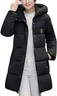 Misaky Women's Down Long Jacket Puffer Thicker Winter Parka Coat Overcoat