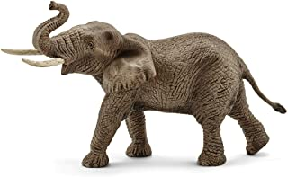 Schleich African Male Elephant Toy Figure