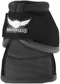 Relentless Strikeforce No-Turn Bell Boots Black Large