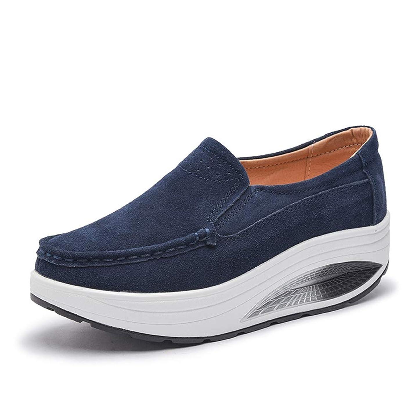 放置可能性ステージ[OceanMap] 船型底ナースシューズ レディース ダイエットシューズ 厚底スニーカー 姿勢矯正 ダイエット 美脚 軽量 ローファー ウォーキングシューズ 看護師 作業靴 歩きやすい 疲れない 婦人靴 厚底シューズ 25cm 25.5cm