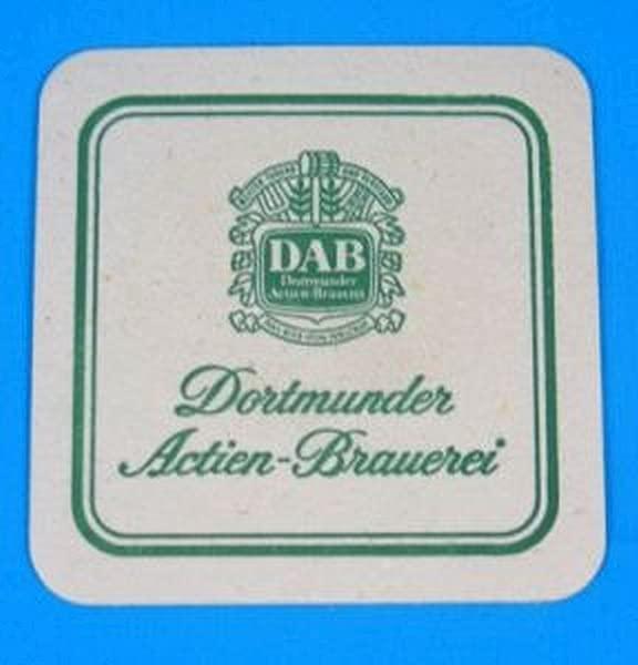 Dortmunder Actien Brauerei Dab Square Coaster Set Of 25